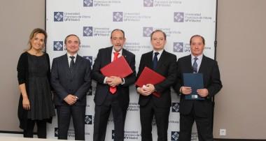 La Universidad Francisco de Vitoria (Madrid) colaborará con la Federación de Fútbol de Madrid