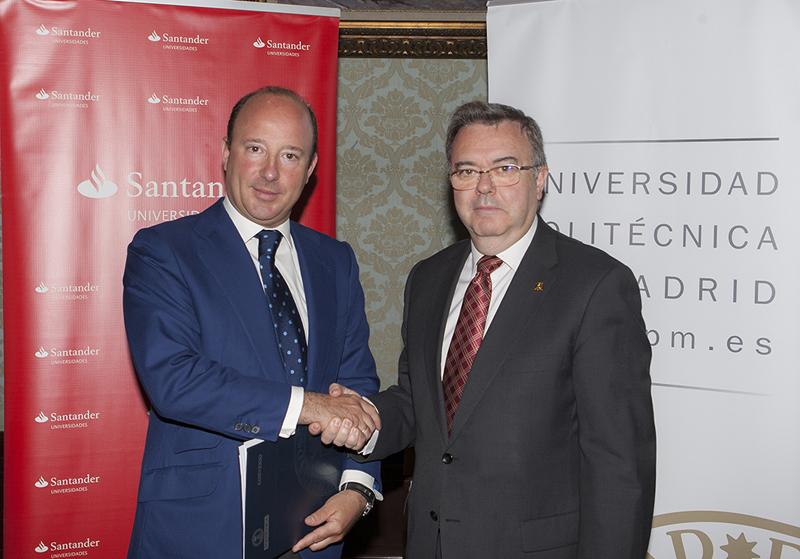 Convenio UPM Banco Santander
