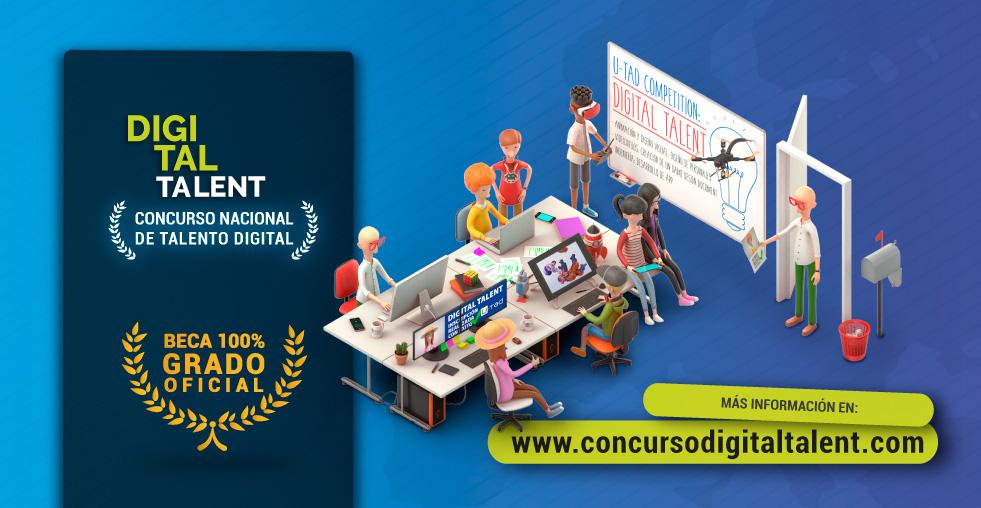 concurso digital talent u-tad