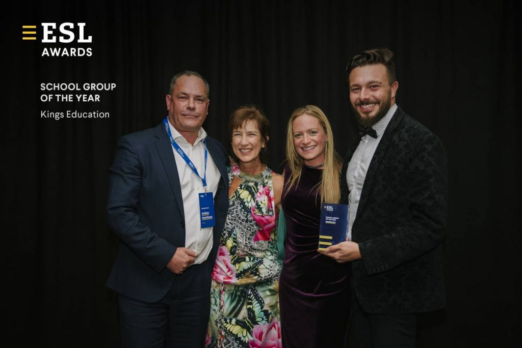 escuelas de idiomas premios ESL Awards