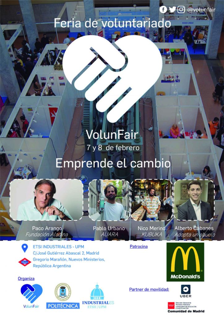 feria voluntariado upm