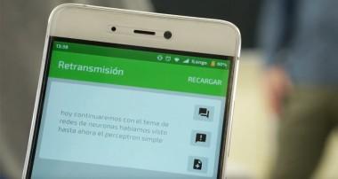 Una aplicación gratuita subtitula a los profesores  en tiempo real