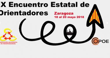 Zaragoza acoge en mayo el IX Encuentro Nacional de Orientadores