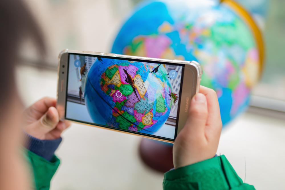 realidad aumentada en el aula nuevas tecnologías