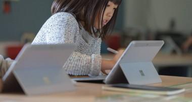 Microsoft se adentra en las aulas de la mano de Surface Go