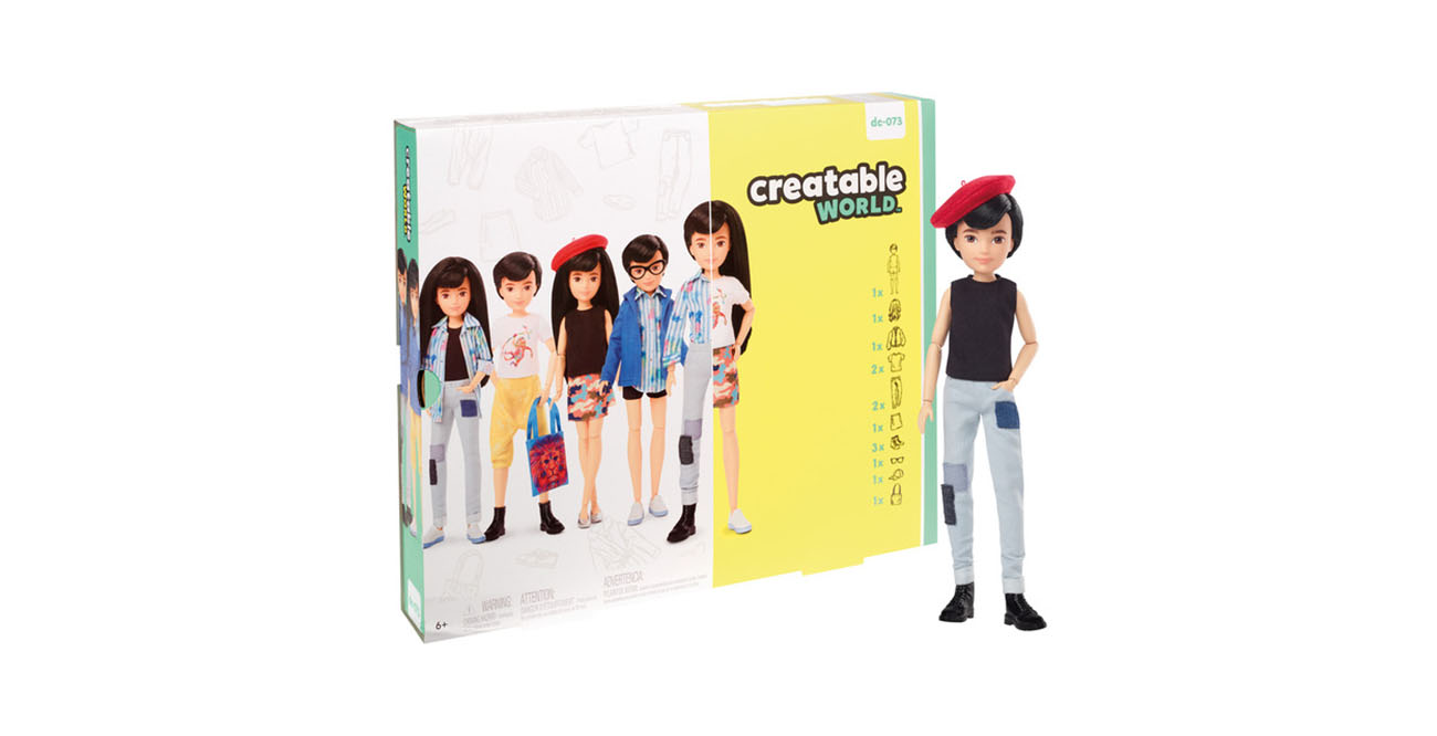 Creatable world, muñecos inclusivos