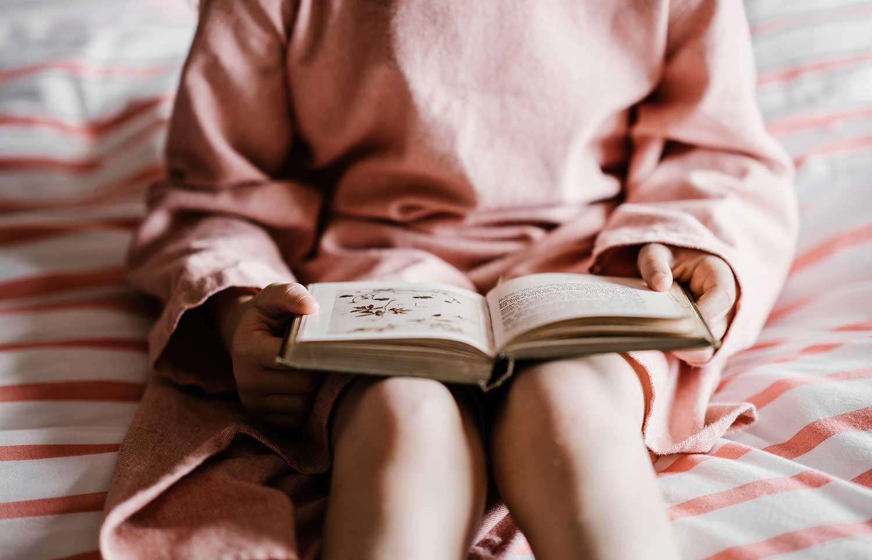 llectura, libros, niña, ocio