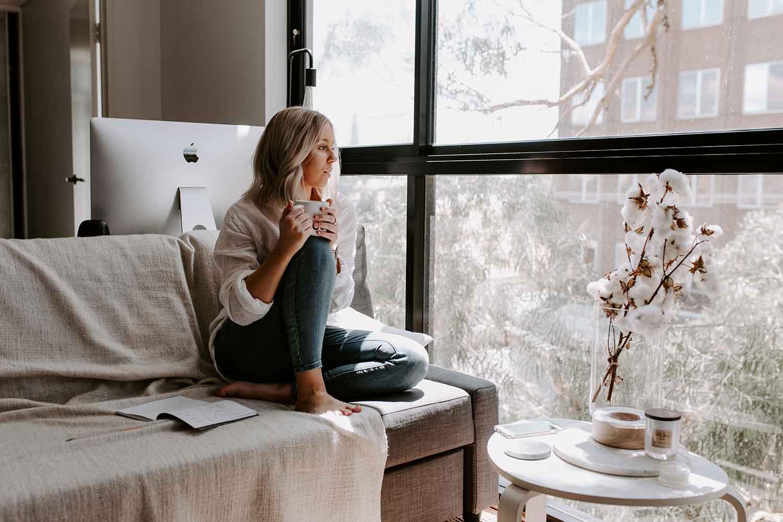 coronavirus, casa, hogar, relax