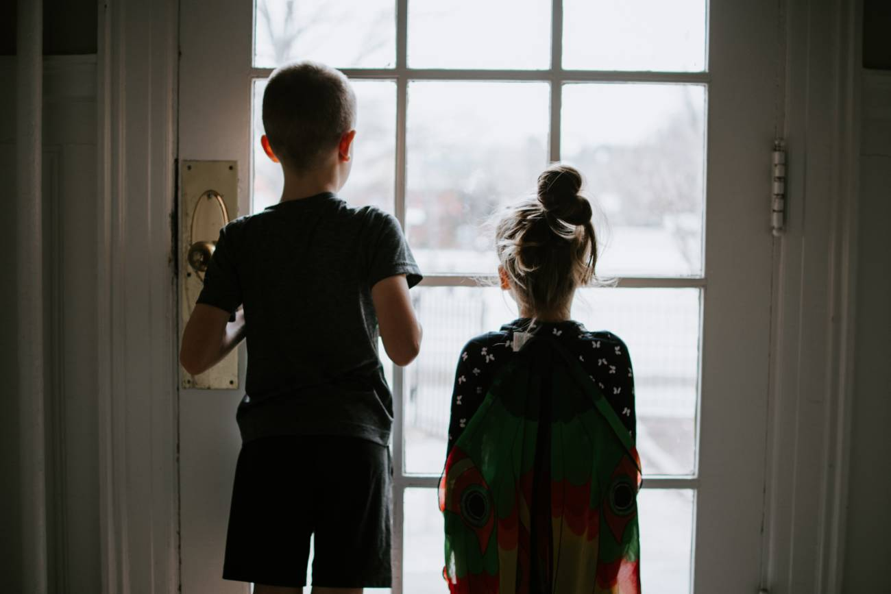 cuarentena niños encerrados