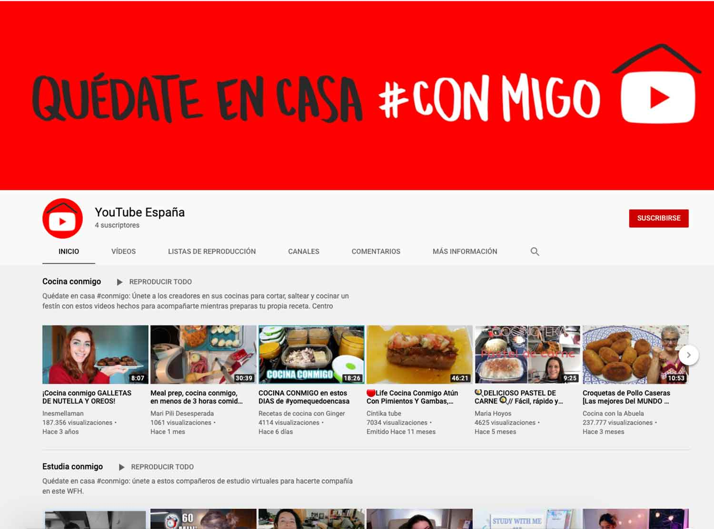 YouTube, webs, online