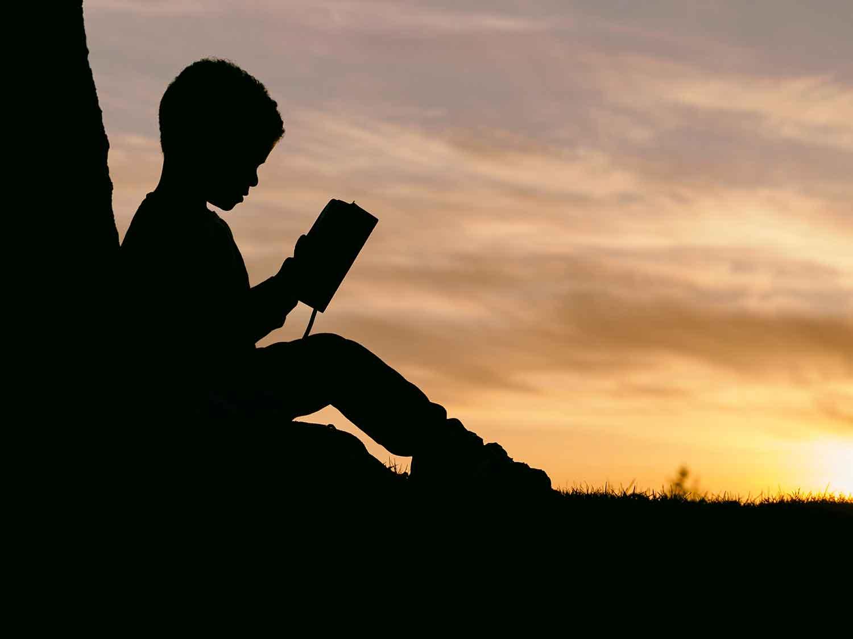 educación, leer, niño, lectura, libro, estudiar
