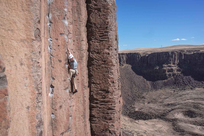 escalada, montaña, deporte