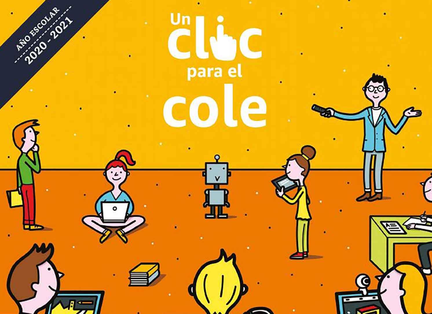 """Amazon.es lanza """"Un clic para el cole"""" para apoyar a los centros"""
