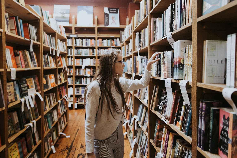 biblioteca, estudiante, Universidad