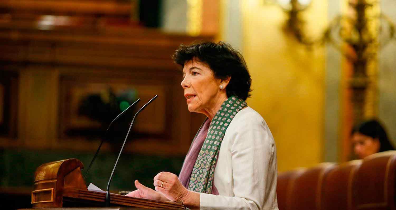 Ministerio de Educación y Formación Profesional, Isabel Celaá, ministra de Educación