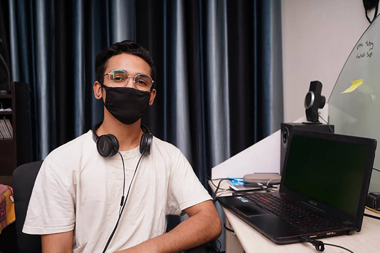 trabajo, COVID, mascarilla, pandemia, tecnología