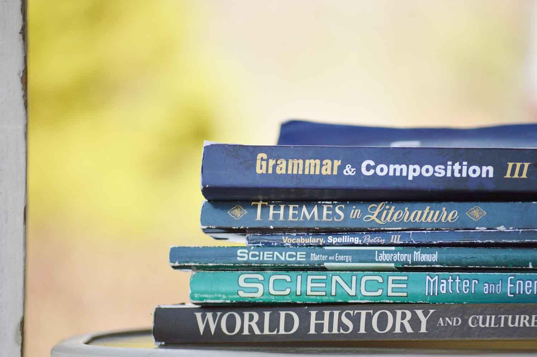 libros, idiomas, inglés, gramática