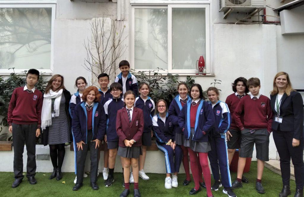 Alumnos del British School of Valencia