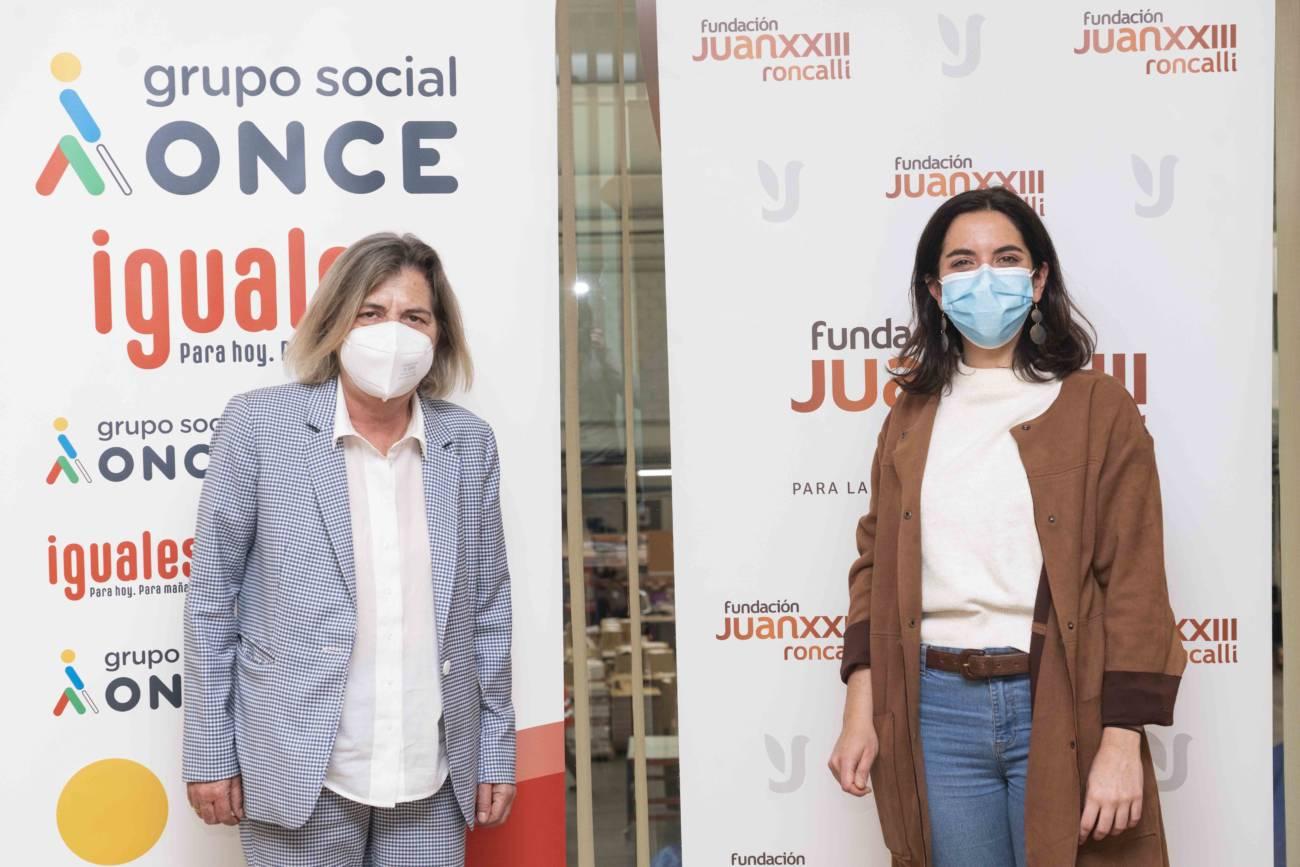 Fundación ONCE y Fundación Juan XXIII Voluntariado