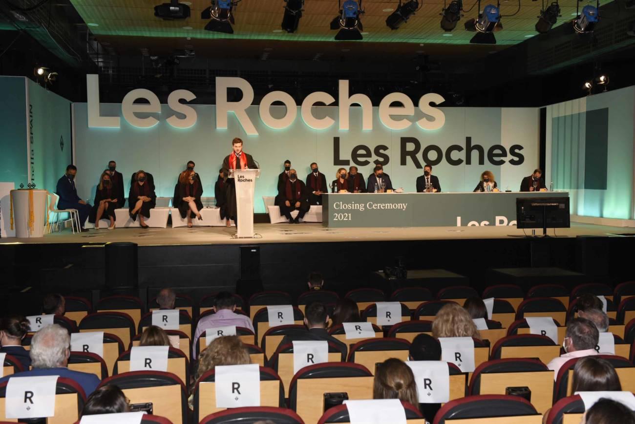 ceremonia de graduación Les Roches Marbella: